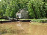 May 1st - After heavy rains at Pennyfield lock