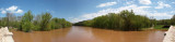 Panorama - Monocacy River from Monocacy Aqueduct