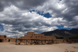 Cloud formation over Taos Pueblo