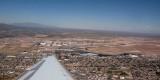 Departure from El Paso airport