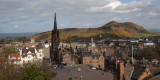 Arthur's Seat from the Edinburgh Castle