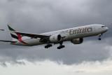 Emirates Boeing 777-31H(ER) at Dublin