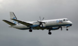 Flybe Saab 2000 at Dublin (I had originally incorrectly called it a Bombardier Dash 8)