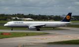 Lufthansa A321-231 at Dublin