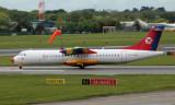 Danish Air Transport ATR 72-202 at Dublin