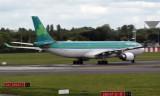 Aer Lingus A330-302 ready for takeoff - Dublin