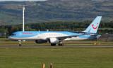 Thomson Boeing 757-2G5 at Glasgow