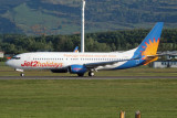 Jet2 Boeing 737-8K5 at Glasgow