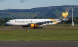 Thomas Cook A330 at Glasgow