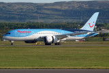 Thomson Boeing 787-8 at Glasgow