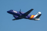 Flybe Saab 340 at Glasgow