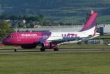 Wizz Air A320-232 at Glasgow