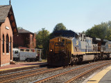 Freight train from DC