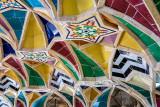 Ceiling tiles - Baba Kuhis tomb, Shiraz