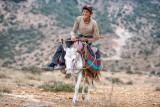 Shepherd and donkey - Semnan