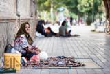 Woman waiting - Esfahan