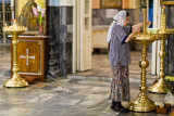 Woman cleaning - Uzbekistan