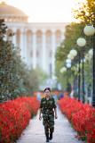 Soldier in Rudaki Park - Dushanbe