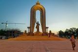 Ismail Samani Statue - Dushanbe
