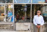 Elderly man and his shop - Shiraz
