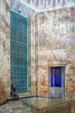 Interior of Saadi's tomb - Shiraz