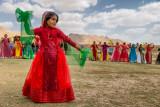 Qashgai girl dances - Aghdash