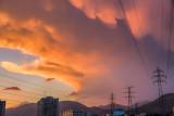Boisterous sky  - Tehran
