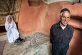 Girl and old man - Kaj, Iran