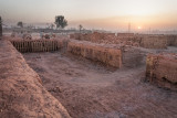 Brick kiln pit
