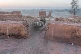 Daybreak in the kiln