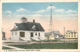 Coast Guard Station Postcard