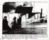 Firefighters Battle Blaze