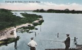 Fishing from the Dyke with View of Everson's