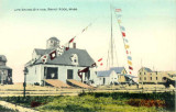Lifesaving Station with Penants Flying