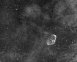 NGC6888 + Soap Bubble