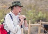 Visiting archaeologist Dr. Warren DeBoer