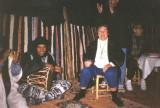 Gwenn's Moroccan adventures in Bedouin tent