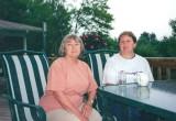 Gwenn at Miriam's home in Pennylvania -- early 2000s