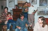 Rebecca & Cam, Ben, cousins Tom & Chacha Jacobs with son Natan