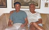 Ben with brother Yussie in Phoenix