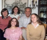 ca. 1975, Miriam with Chaiken family