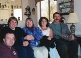Miriam, Gwenn & Sara with nephews David & Jim Brewer