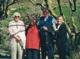 Gwenn with dear friends Polly Potts & Bette Mulligan