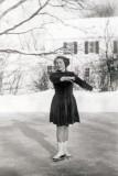Gwenn figure skating, Iowa late 1940s