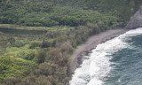 Waipi'o Valley coastline