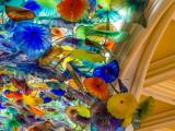 Bellagio Hotel Lobby Ceiling