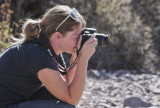 Allison Czapp at Organ Mountains