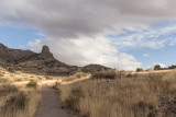 Soledad Canyon trail in Organ Mountains