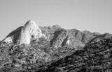 Sugar Loaf mountain from Aquirre Springs in Organ Mountains