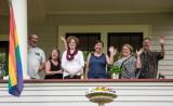 Dave Brewer, Sara Chaiken, Nancy (Conelly) Landies, Rebecca Chaiken, Miriam Chaiken, Cam Counters